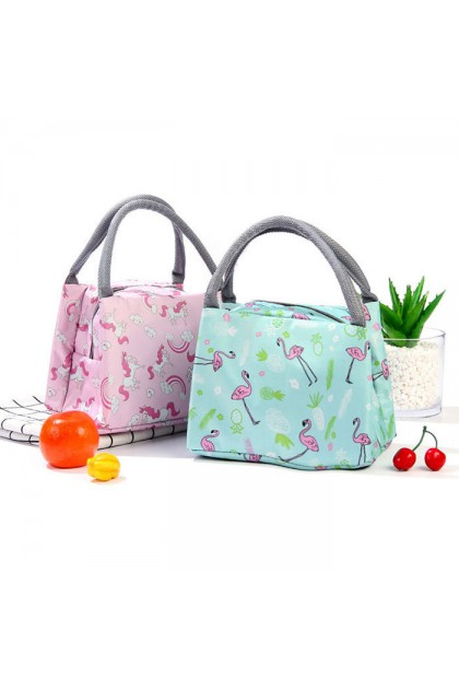 TR019 Insulated Printed Lunch Box Portable Travel Bag