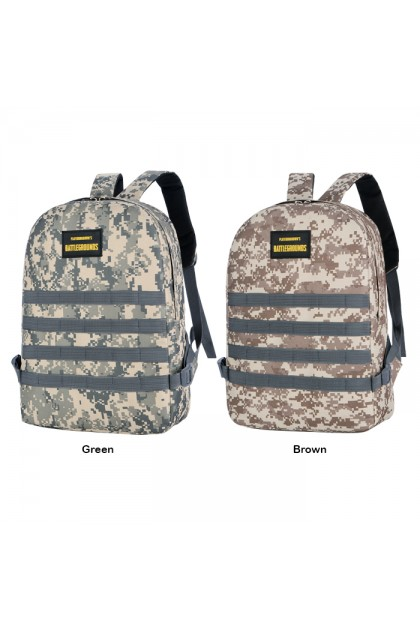 SK554 Battleground Army Military PUBG Gamer Outdoor Travel Backpack