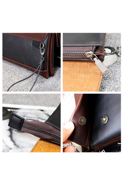 WLM106 Men's Bussiness Fashion Casual Clutch Bag