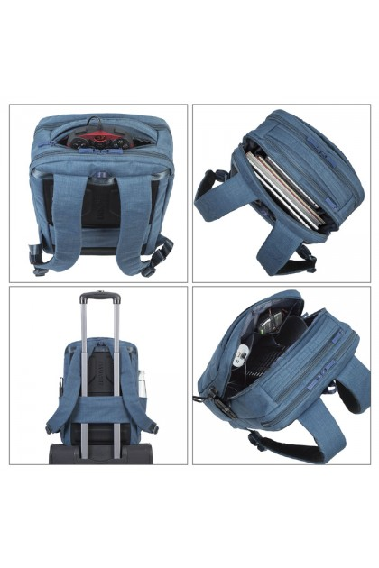 Rivacase Biscayne Carry On Laptop Backpack 17.3""