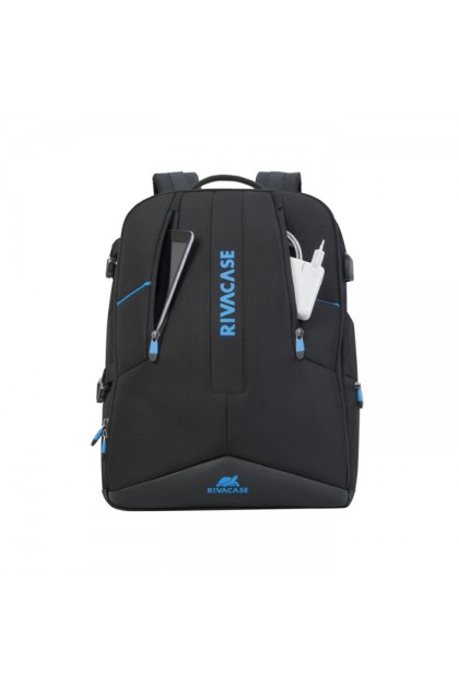"""Rivacase Borneo 17.3"""" Black Gaming Backpack"""