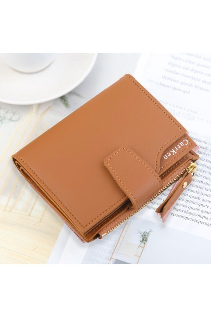 WLF130 New Ladies Multi-functional Card Coin Short Wallet