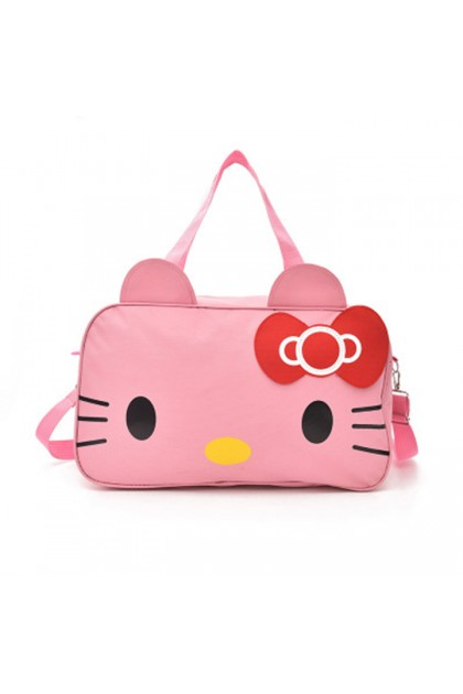 TR0010 Large Capacity Hello Kitty Travel Shoulder Bag