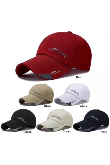 CP055 Simple Pattern Baseball Outdoor Cap