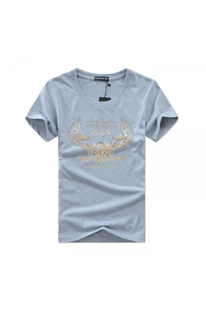 FS014 Men's Fashion Style Short Sleeve Casual T-shirt