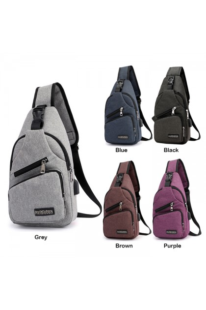 SK512 Sports And Leisure Canvas Chest Cross Body Bag