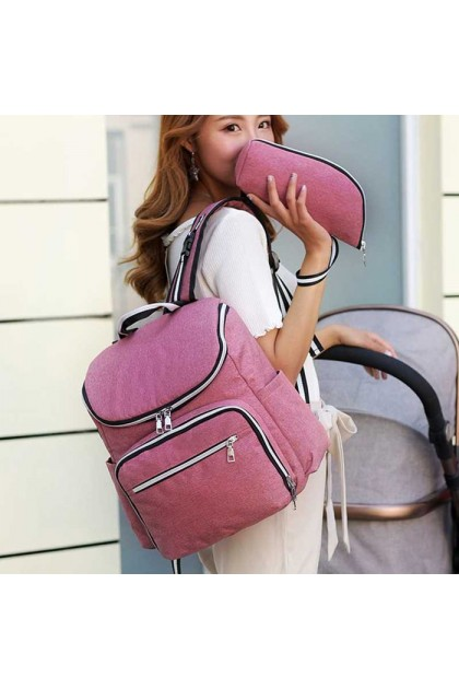 SK531 Large Capacity Baby Maternity Nappy Diaper Mummy Backpack