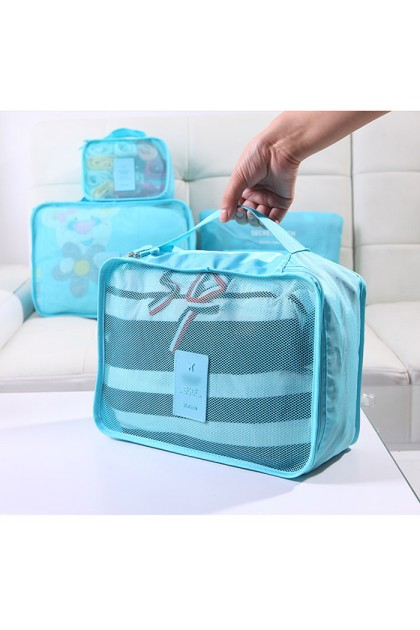 TR007 6 In 1 Travel Portable Storage Bag Set Waterproof Clothes Cosmetics