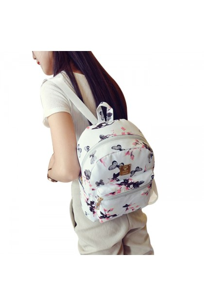 BG3481 Leisure Campus Style Cute Small Backpack Bag