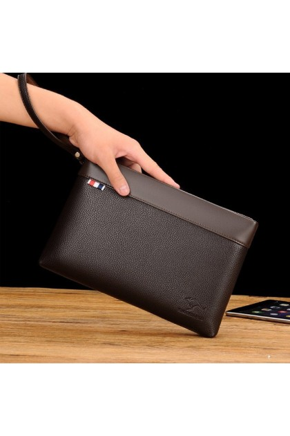 WL071 Men Casual Or Business Fashion Trend Clutch Wallet